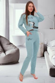 Новинка: домашний костюм с брюками Brosko